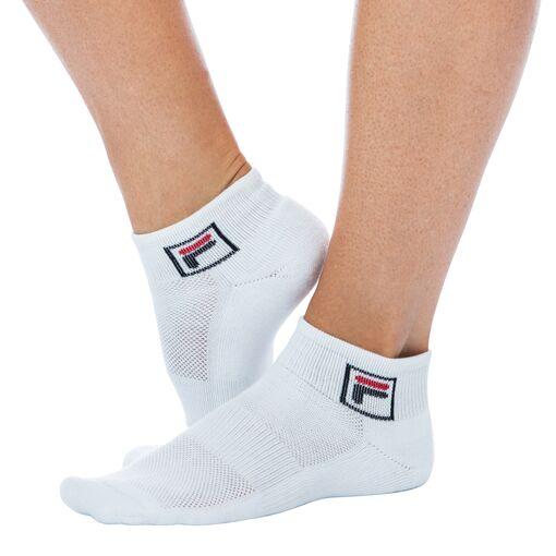 quarter socks in offwhite