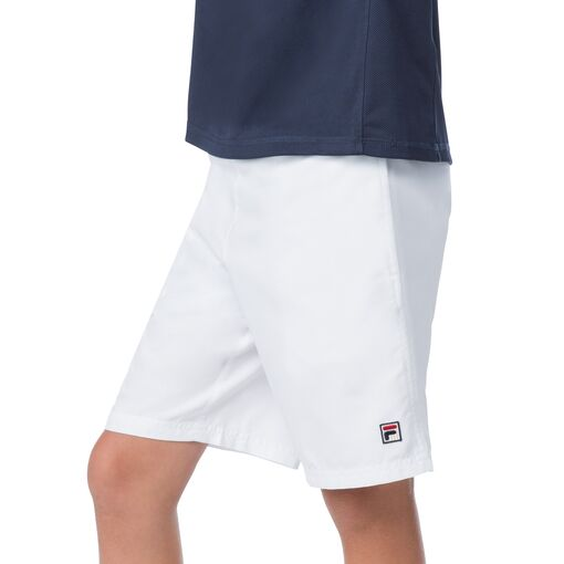 boy's classic short in white