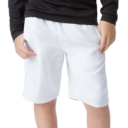 boy's reversible short in white