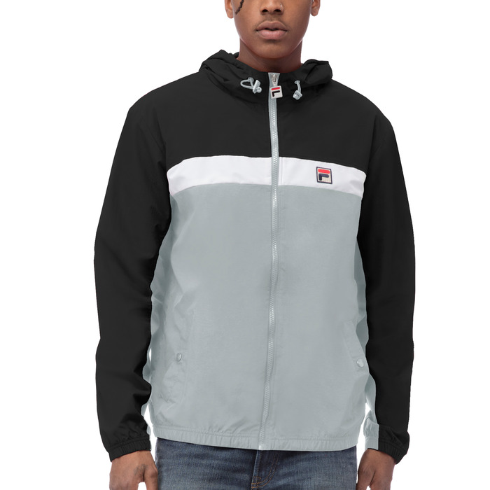 clipper windjacket in black
