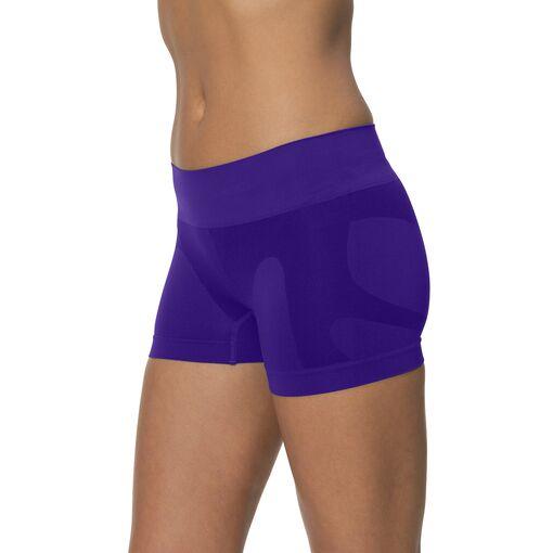 seamless boy short in purplerain