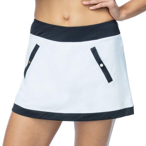 court couture skort in white