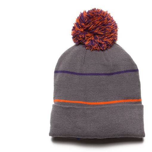 heritage beanie hat in ash