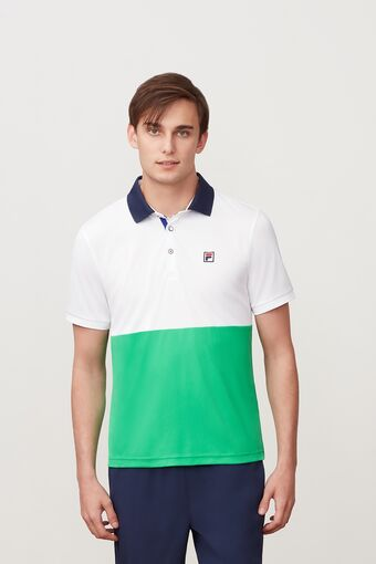 HERITAGE COLORBLOCKED POLO