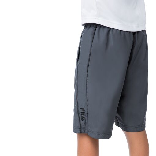 boy's reversible short in black