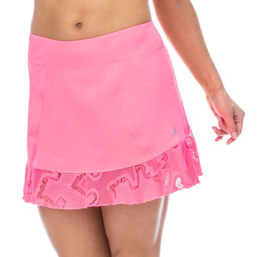 ace flounce skort in pink