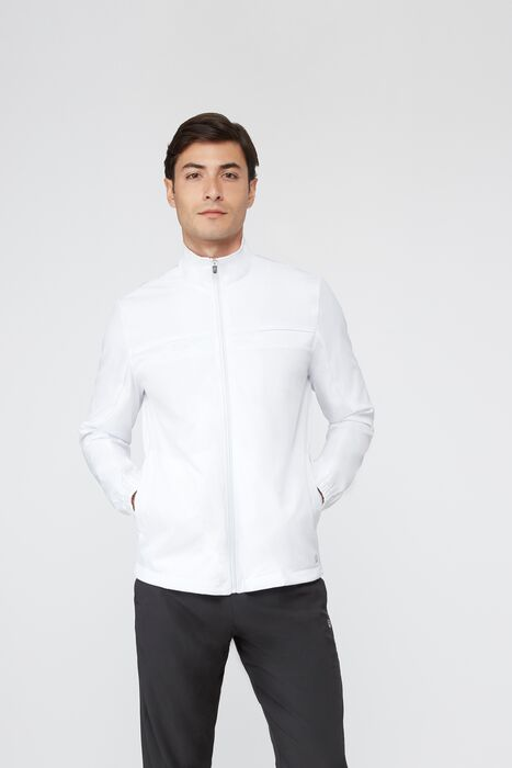 fundamental jacket in white