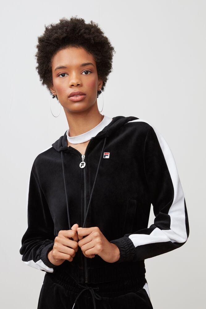 Women's fila velour jackets
