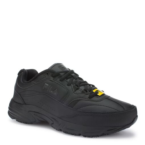 men's memory workshift slip resistant in black