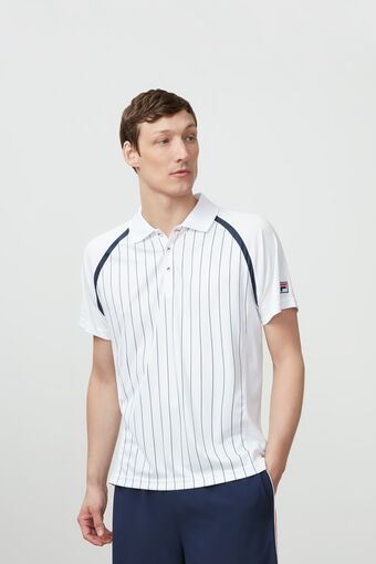 HERITAGE STRIPED POLO