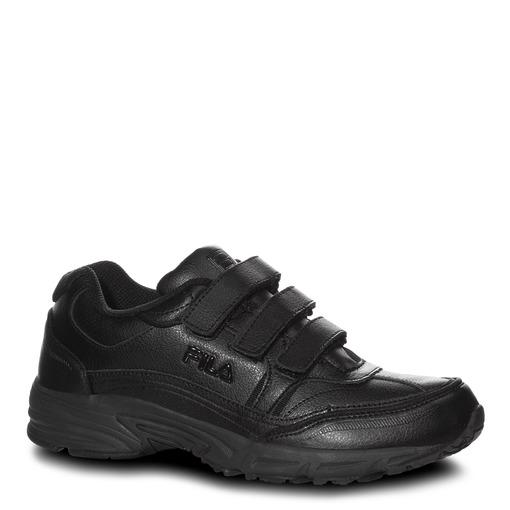 men's comfort trainer strap in black