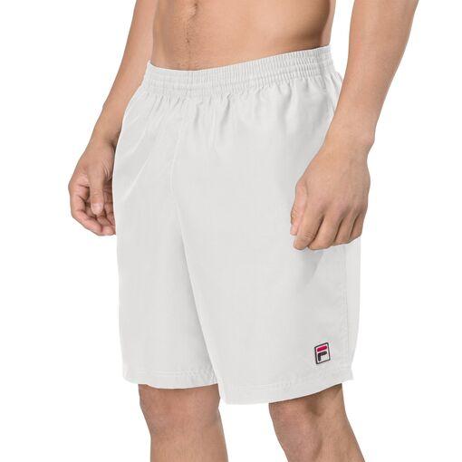 """essenza 9"""" hard court short in white"""
