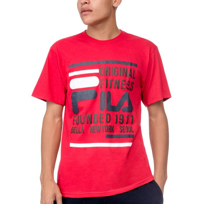 original fitness tee in red