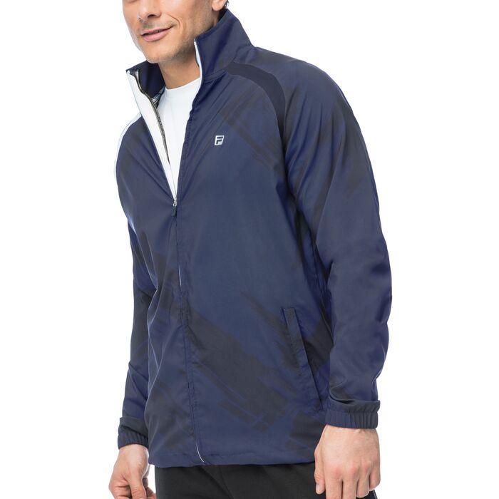 hurricane jacket in blues