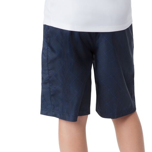 boy's reversible short in peacoat