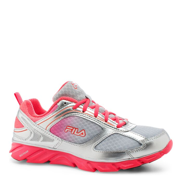 women's fila stride 3 in silver