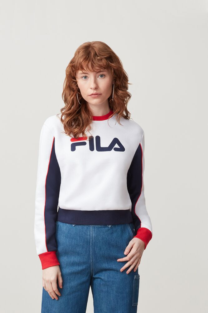 Nuria Colorblock Sweatshirt by Fila