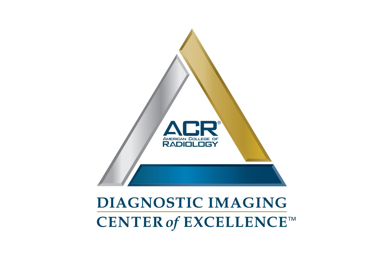 Badge for the Diagnostic Imaging Center of Excellence