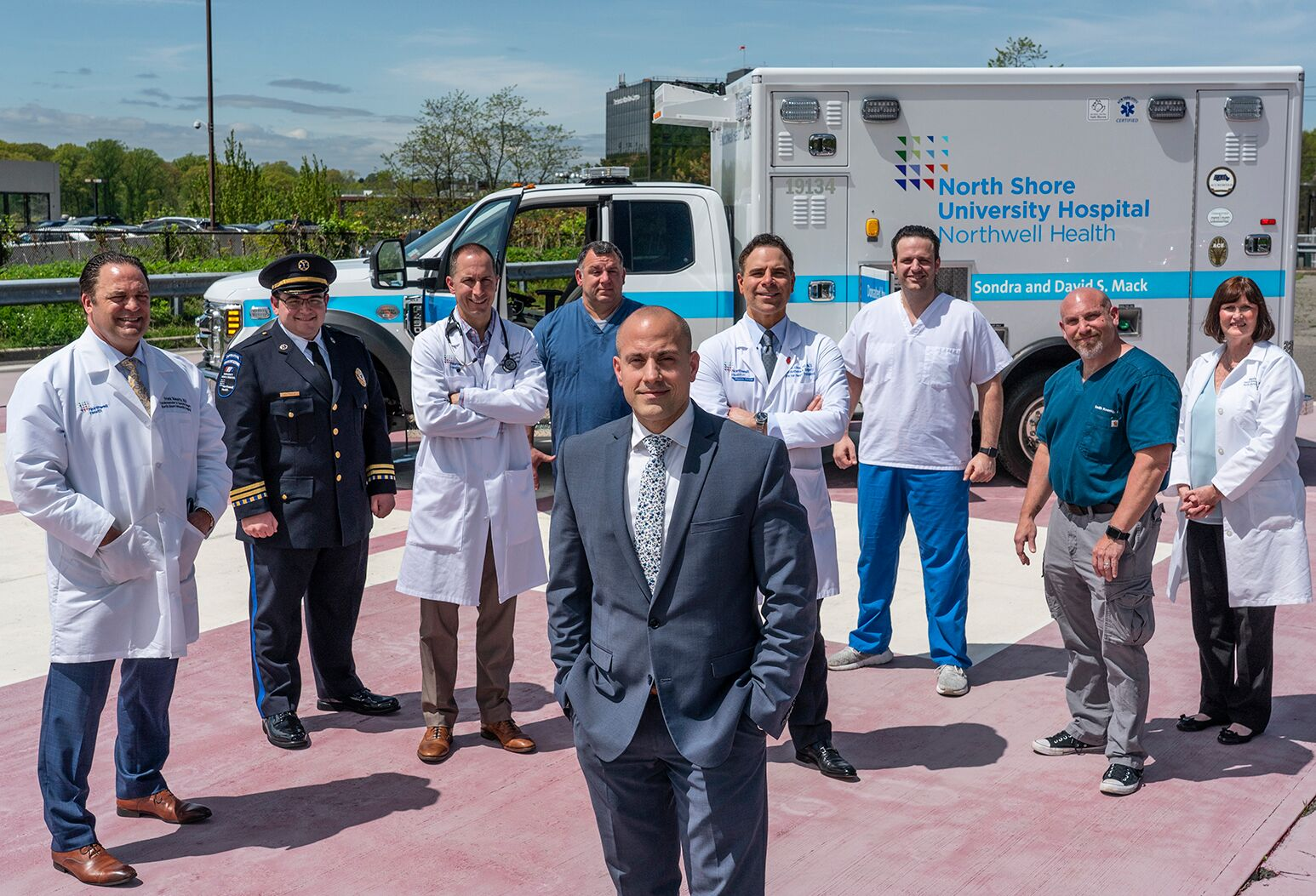 Northwell Health's mobile medical team treats the sickest patients needing heart-lung life support.