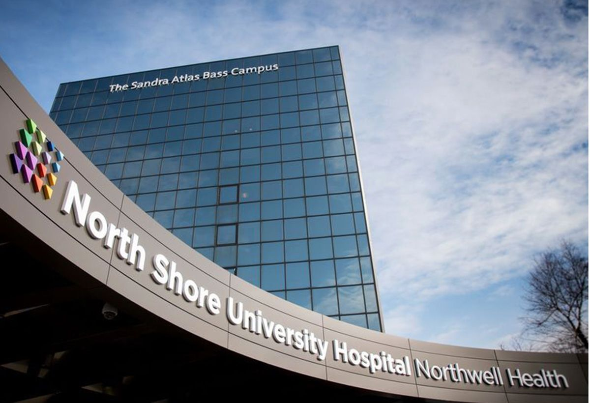 North Shore University Hospital.