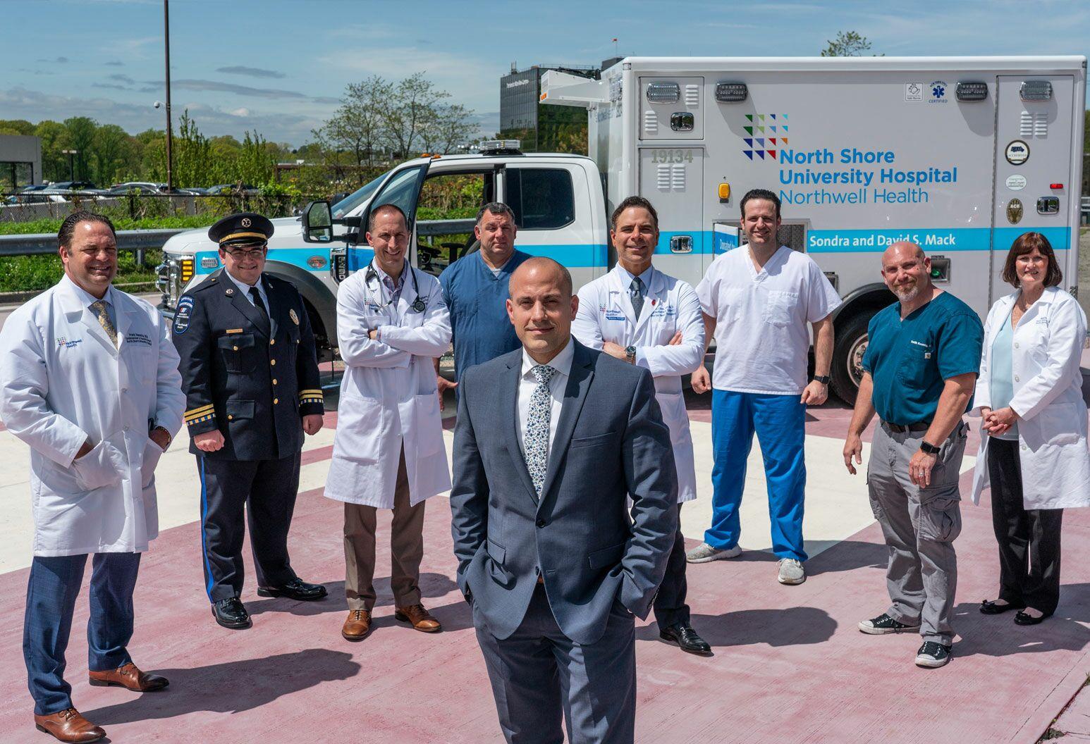 ECMO-TO-GO - Long Island Jewish Medical Center, North Shore University Hospital, Southside Hospital