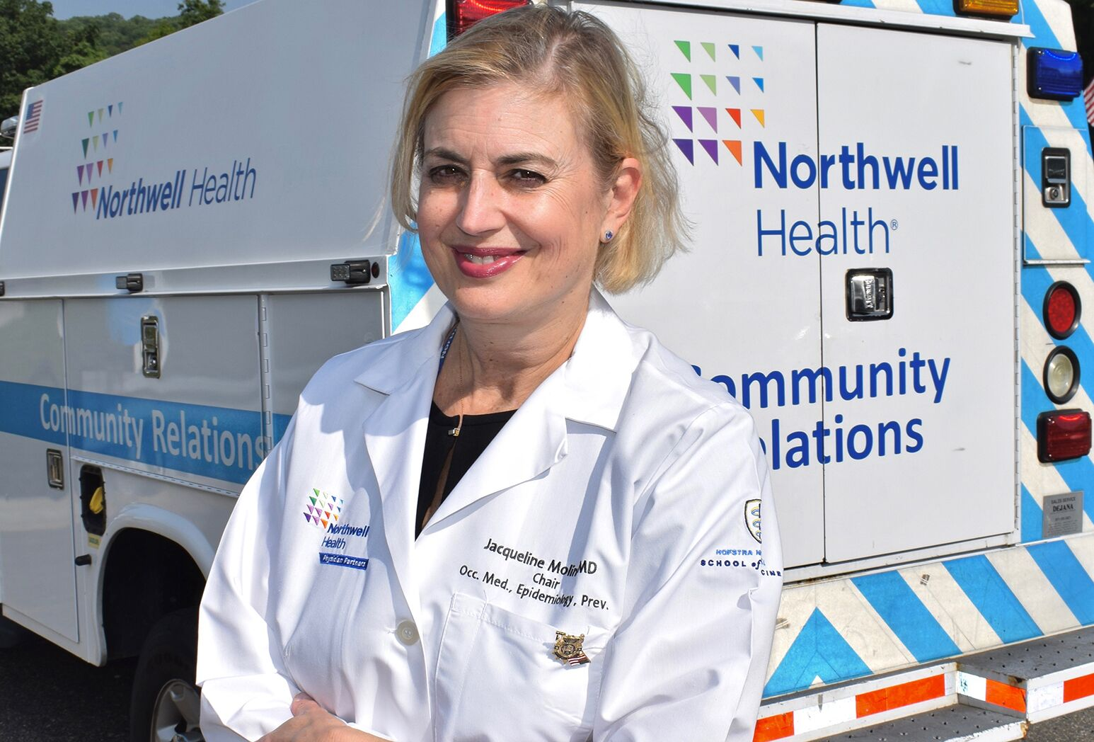 Dr. Jacqueline Moline, director of the Northwell Health Queens World Trade Center Health Program.