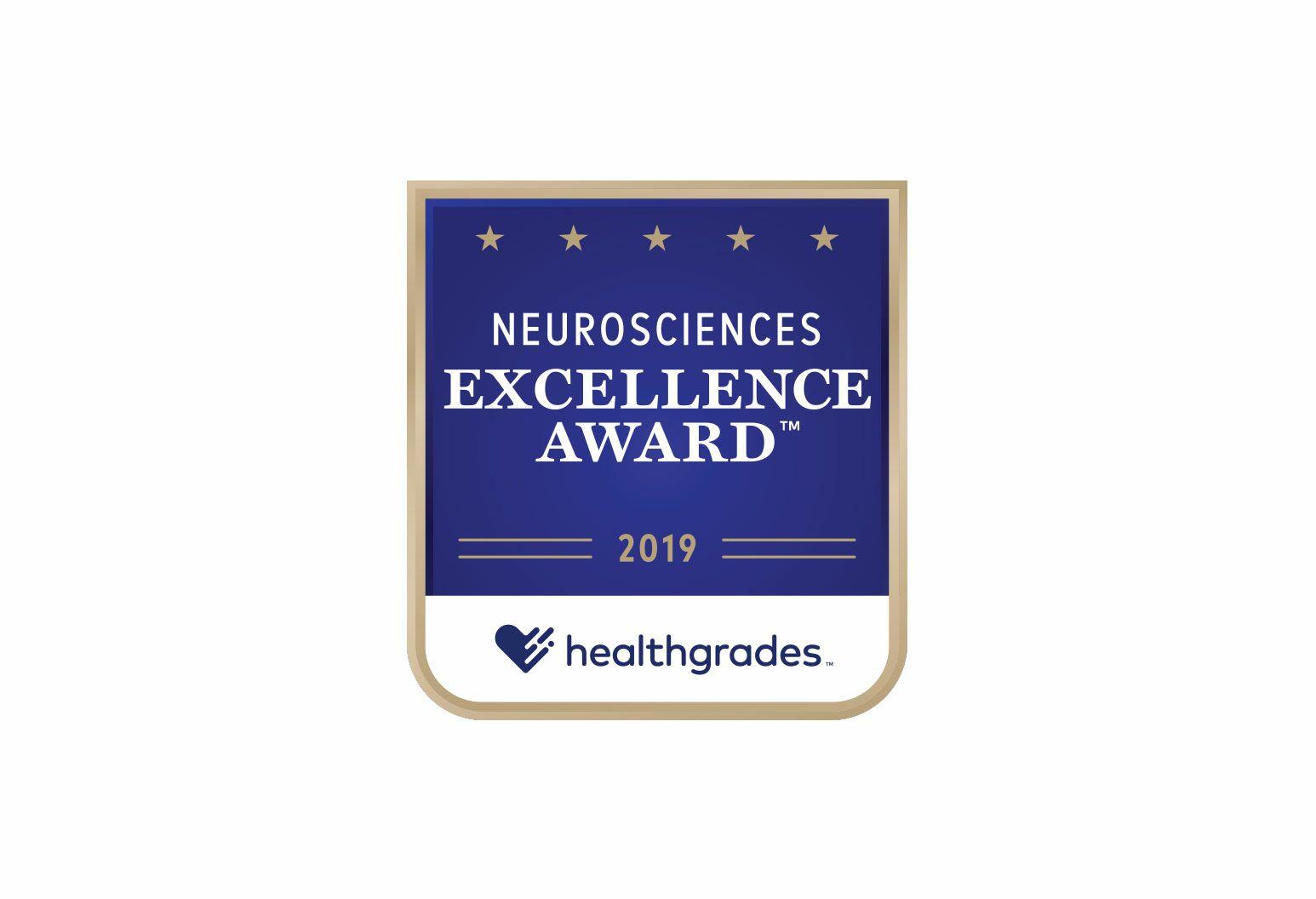 Neurosciences Excellence Award for 2019