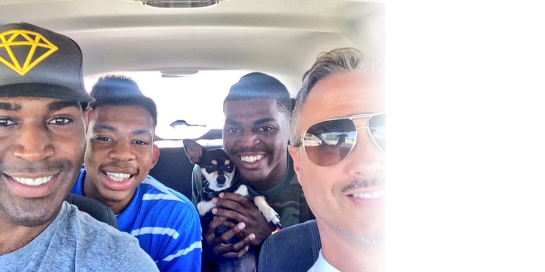 From left to right: Karamo, Chris, Jason, and Ian