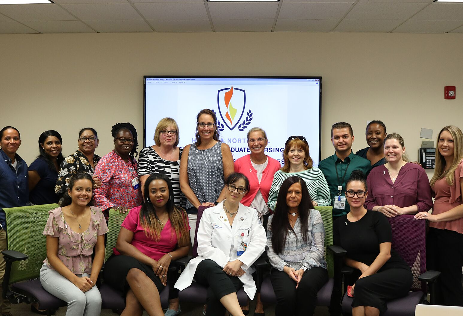 Northwell emergency department nurses became sexual assault nurse examiners on August 21. The 20 are the first class to graduate from Hofstra Northwell's SANE program.