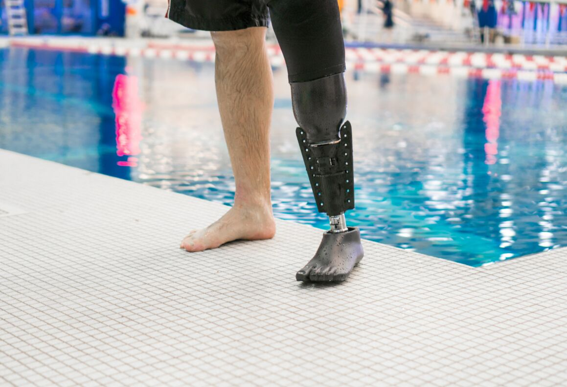 The FIN by Northwell Health - An amphibious prosthetic limb