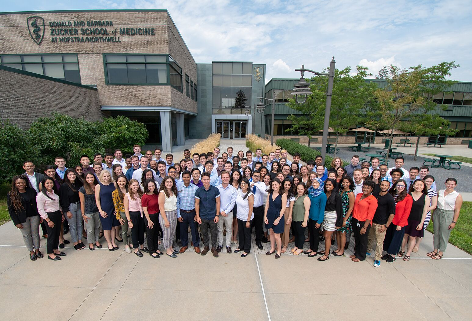 Zucker School of Medicine at Hofstra/Northwell first-year students.