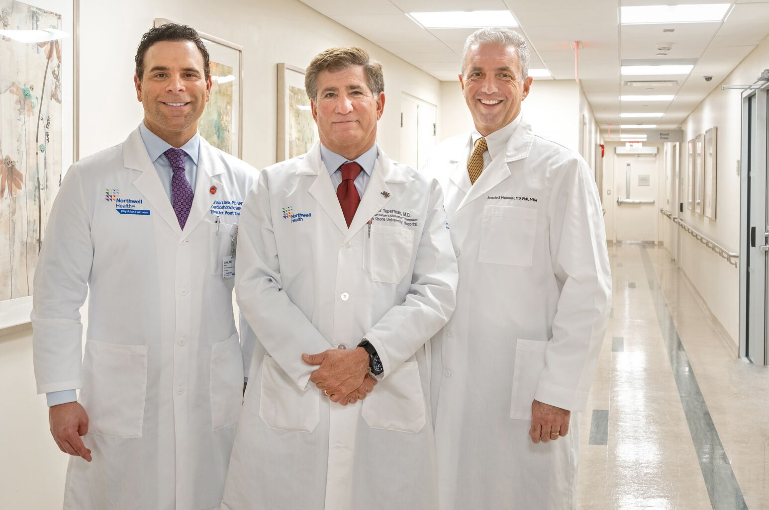 Northwell's organ transplant leadership