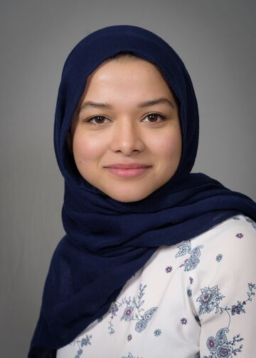 head shot of Fatema Jahra, PA-C