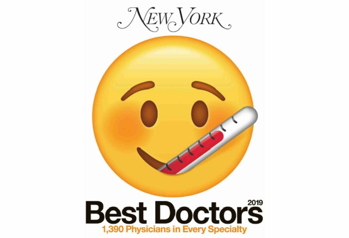"New York Magazine 2019 ""Best Doctors."""