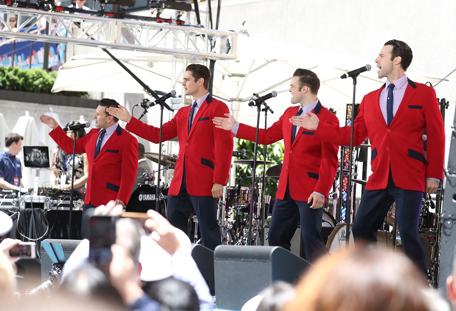 Jersey Boys performing at Side by Side