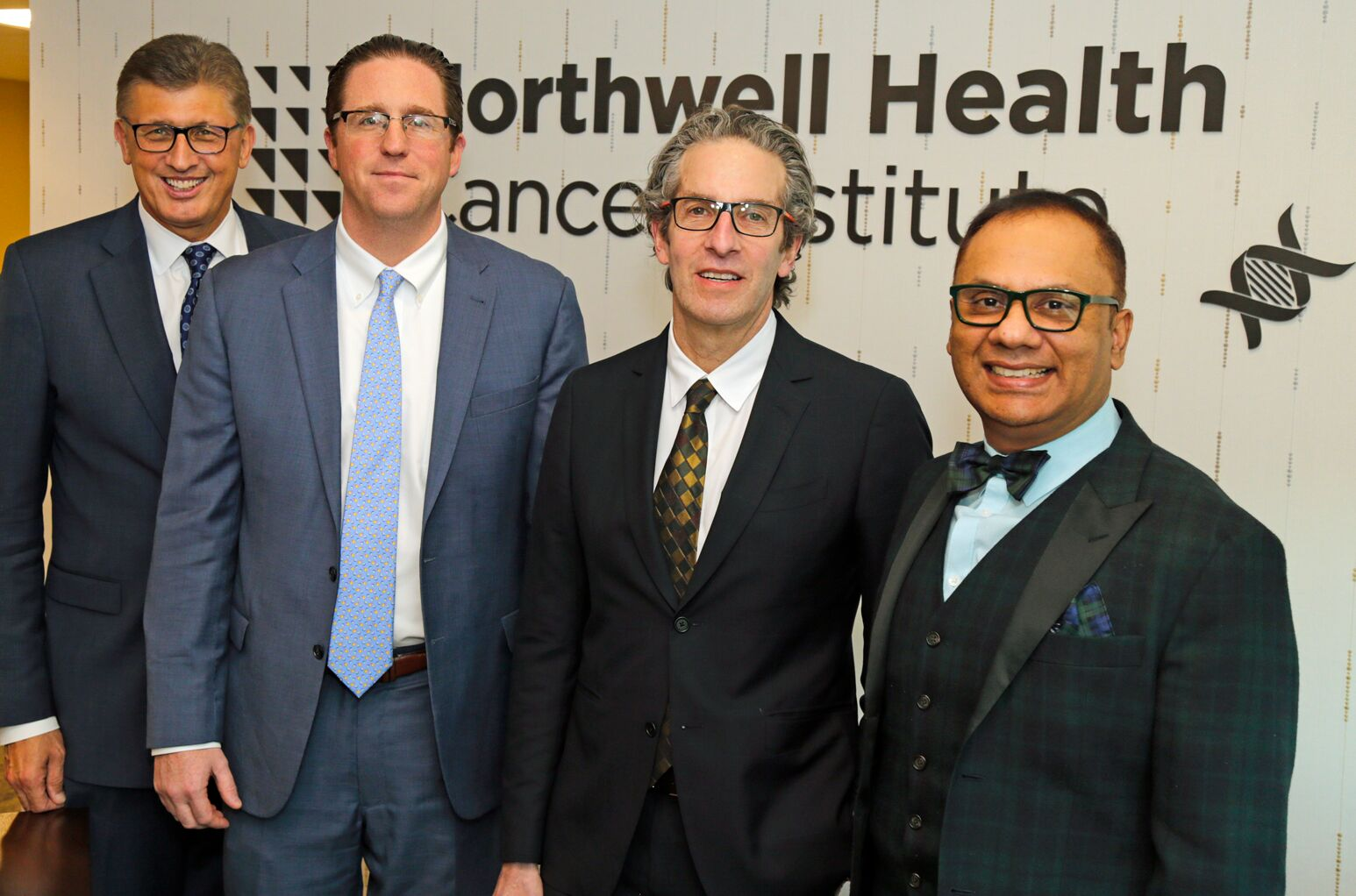 Drs. Richard Barakat, Matthew Weiss, Louis Potters and Wasif Saif