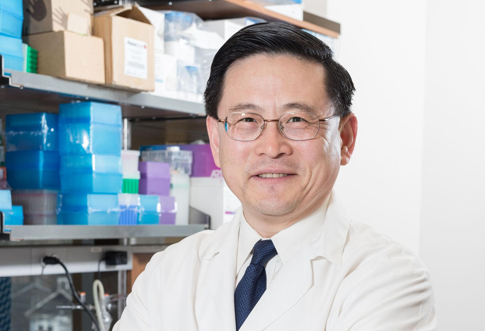 Feinstein Institutes Chief Scientific Officer and Professor Ping Wang, MD.