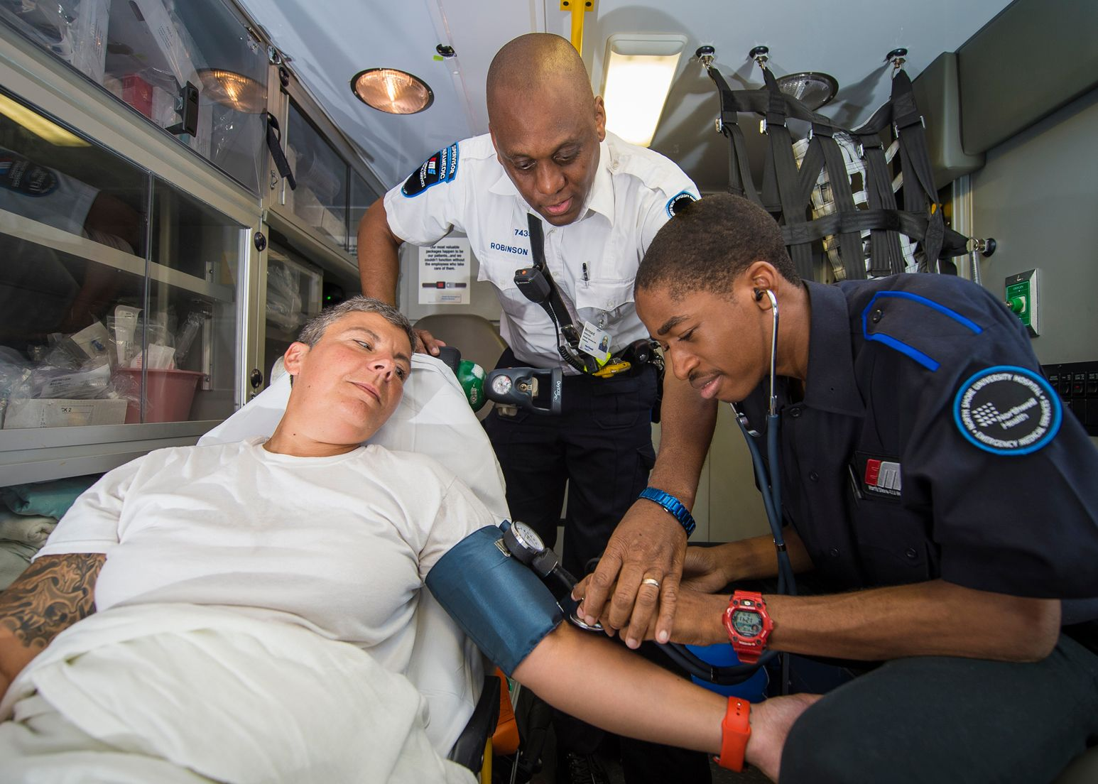 Five essential skills of paramedics and EMTs | Northwell Health
