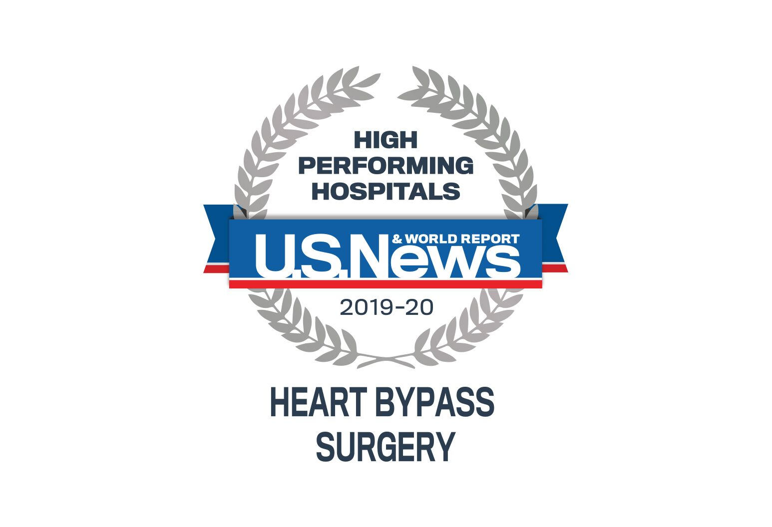 U.S news and report heart bypass surgery badge