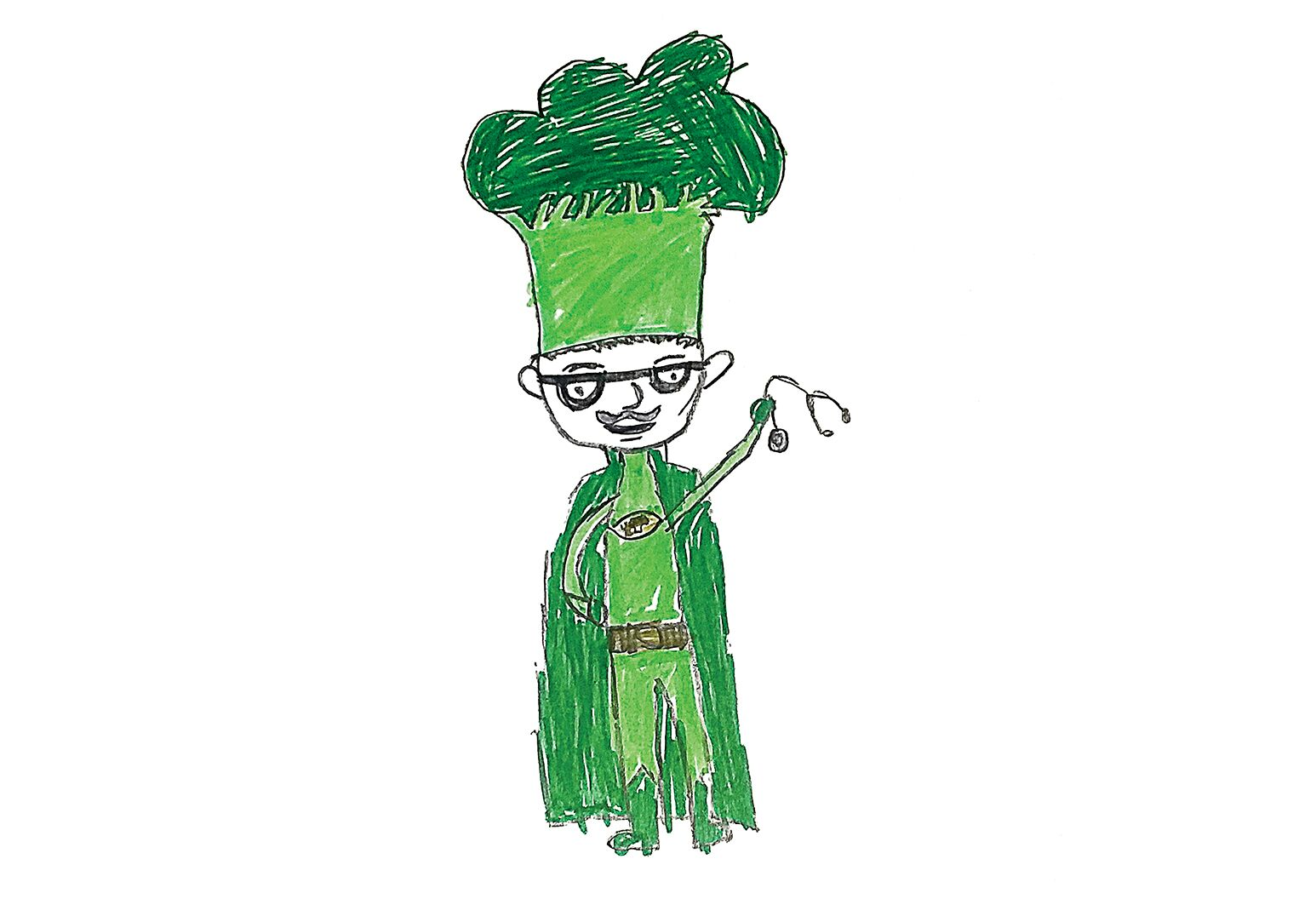 "Dr. ""Super broccoli"" Brochstein by James"