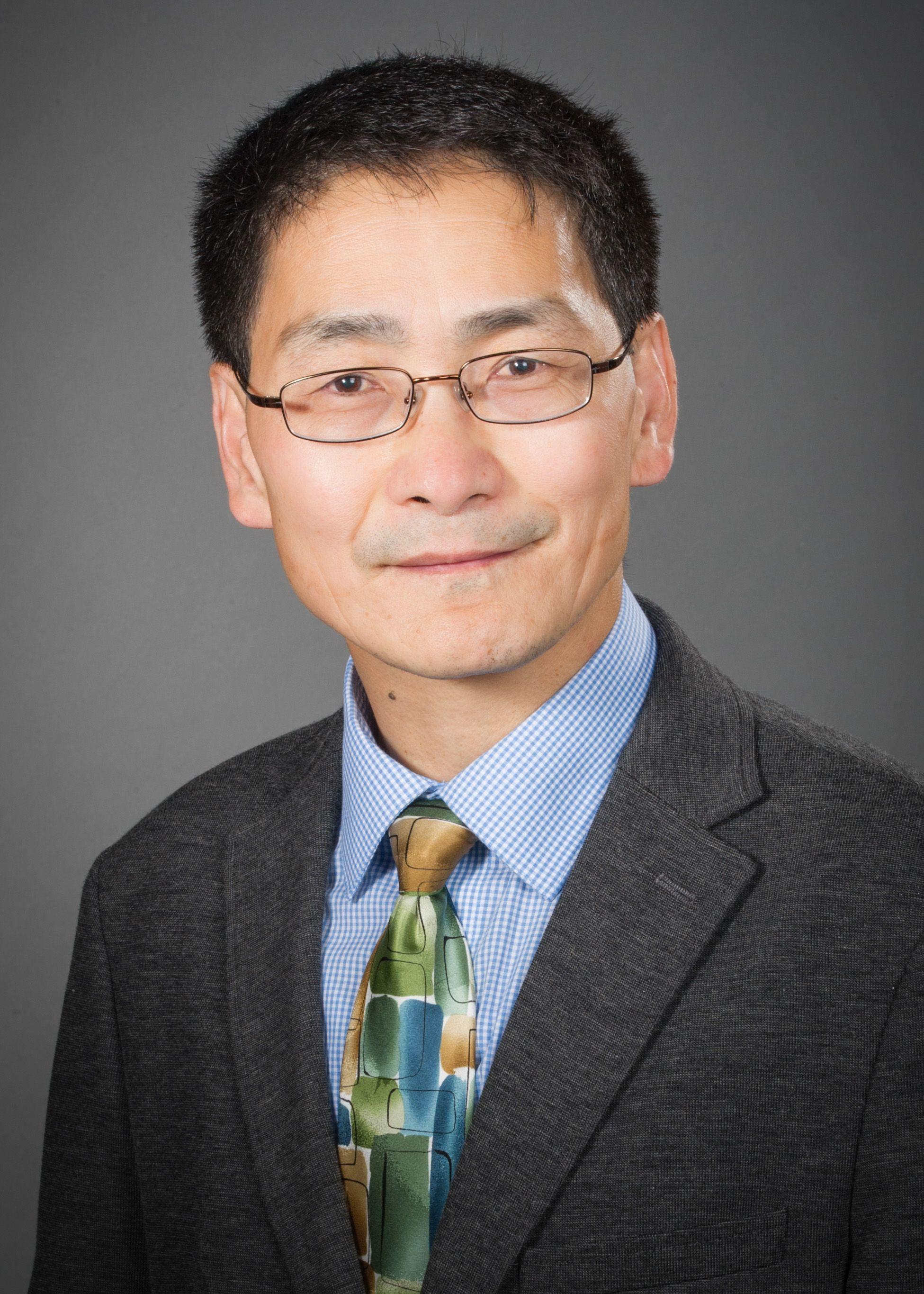 Haichao Wang, PhD headshot