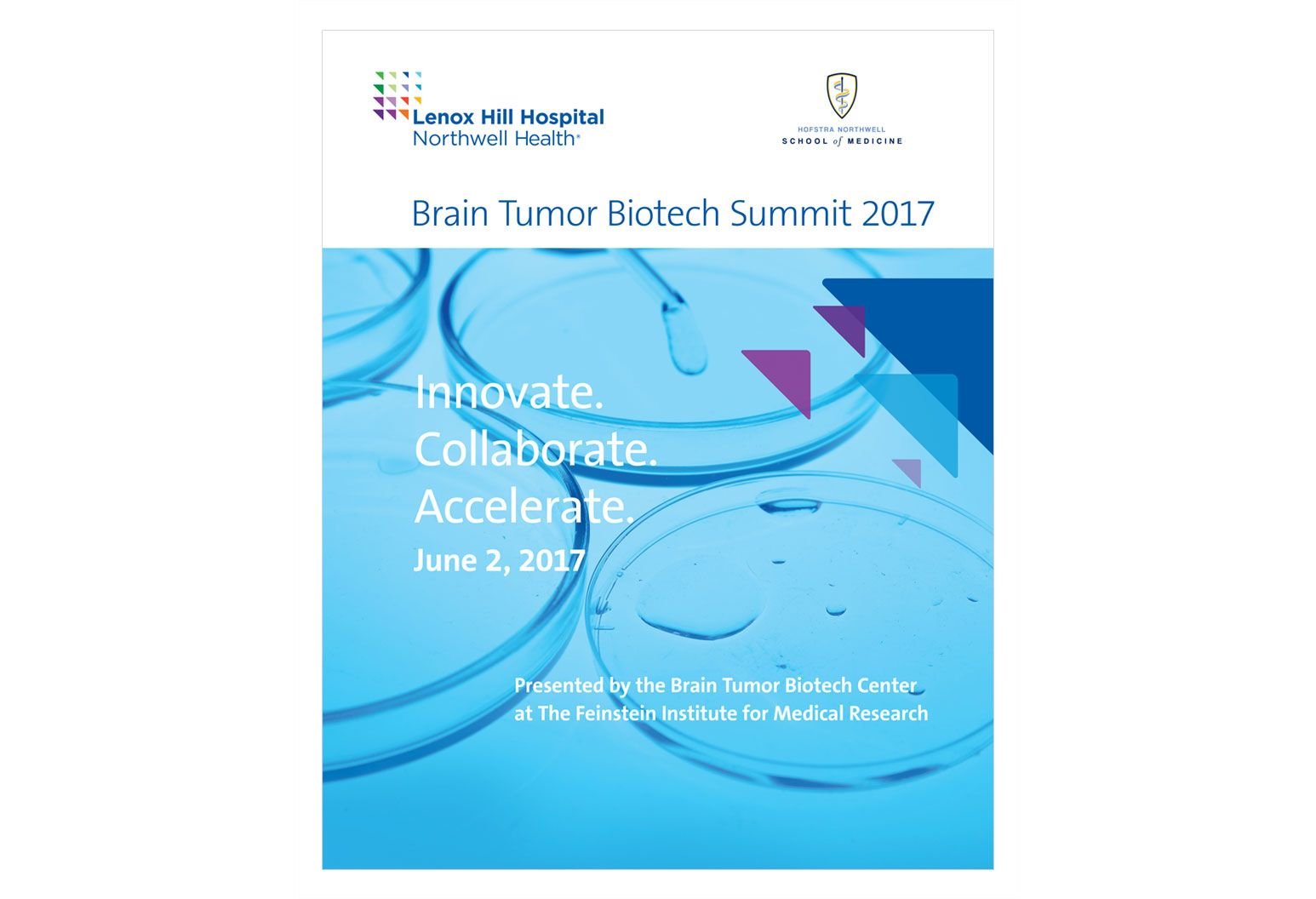 sign  promoting the biotech summit