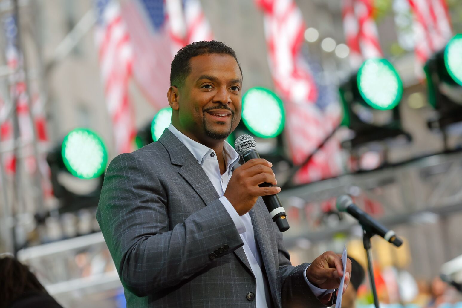 Alfonso Ribeiro served as emcee