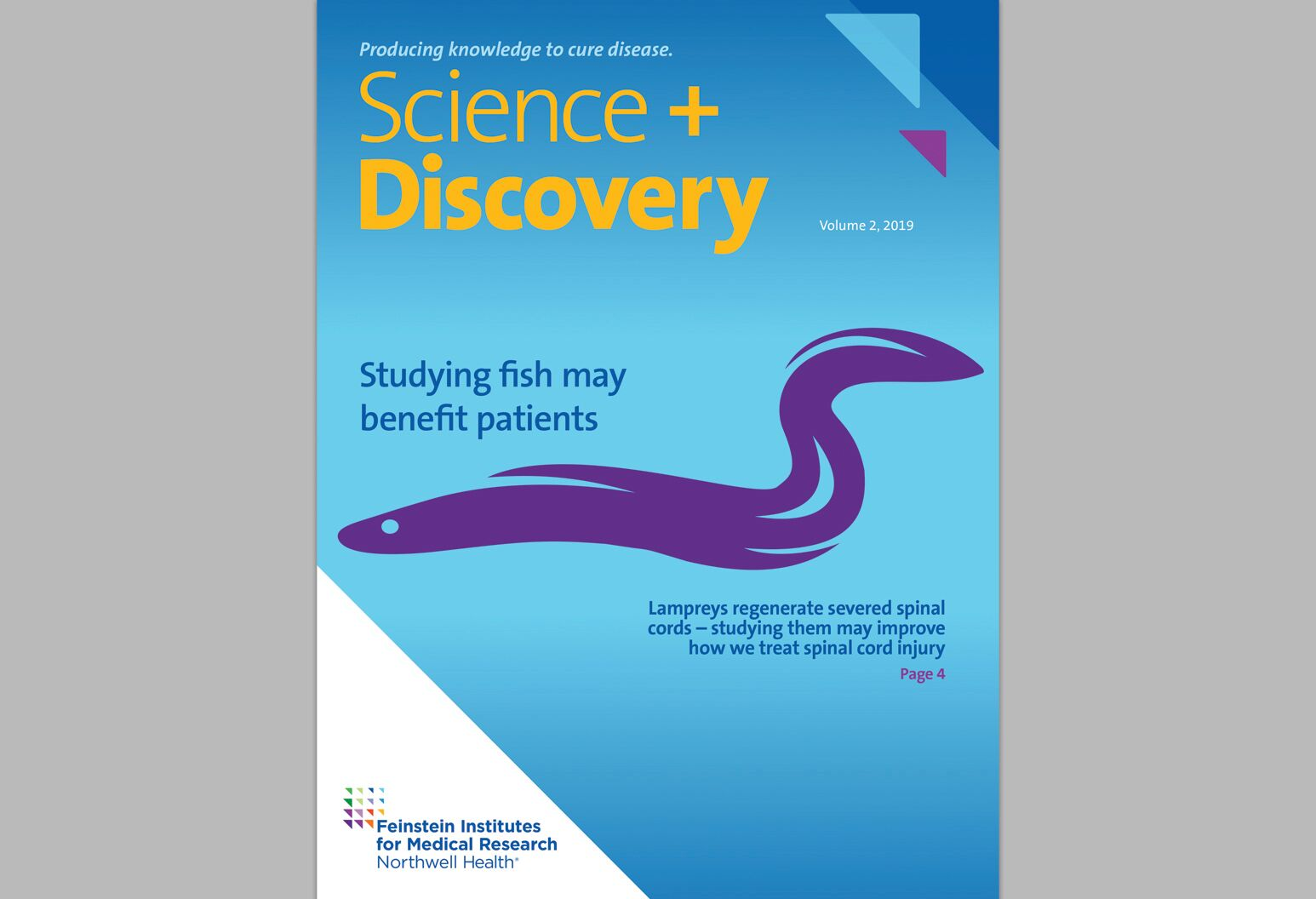 Cover of Science and Discovery, volume 2, 2019