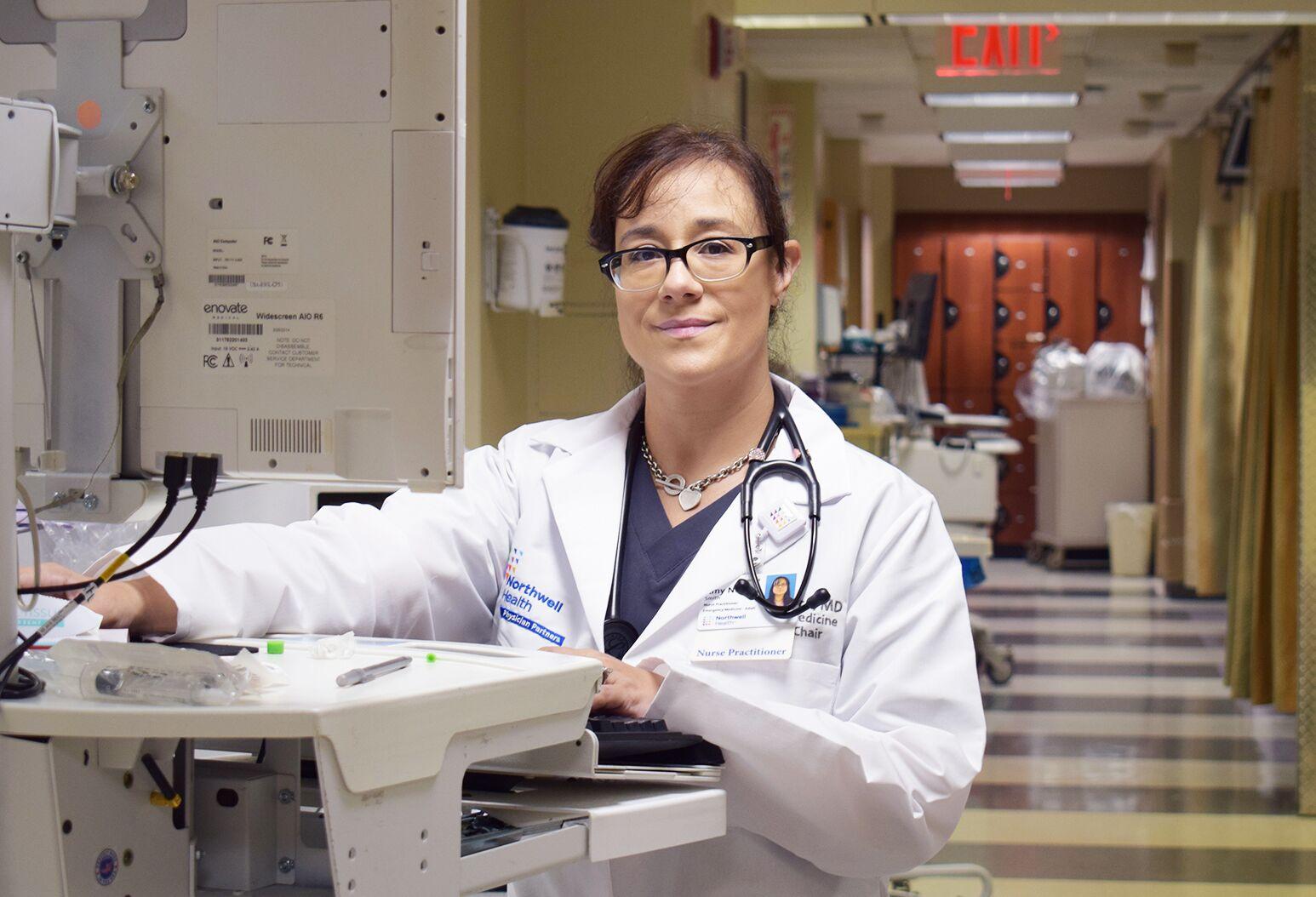 LIJ Forest Hills nurse practitioner Amy Smith.