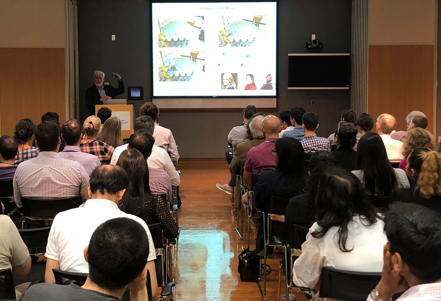 2014 Nobel Laureate in Physiology or Medicine John O'Keefe, MA, PhD, speaks at the Feinstein Institutes for Medical Research.