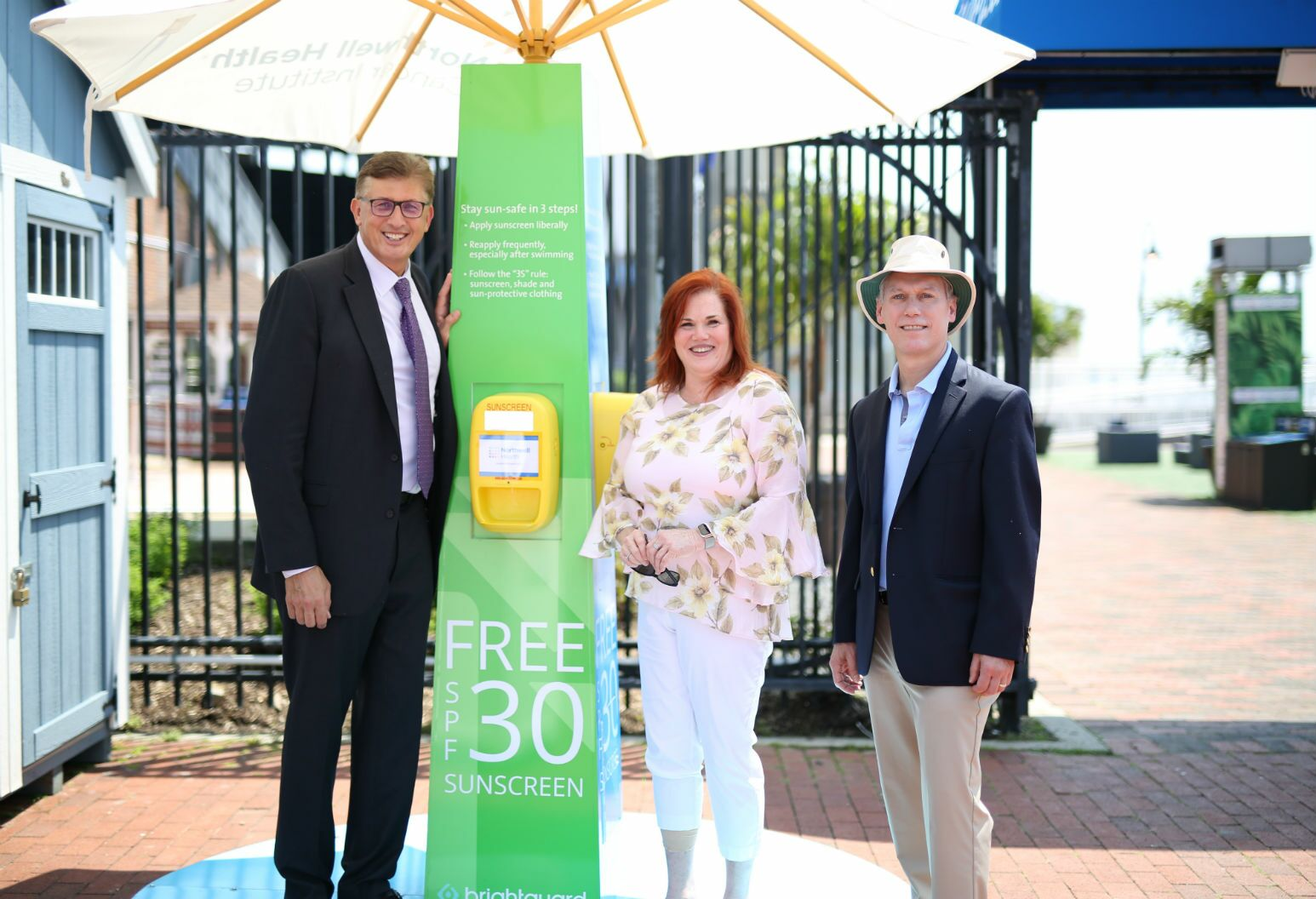 Northwell Health sponsors over 150 free sunscreen dispensers across
