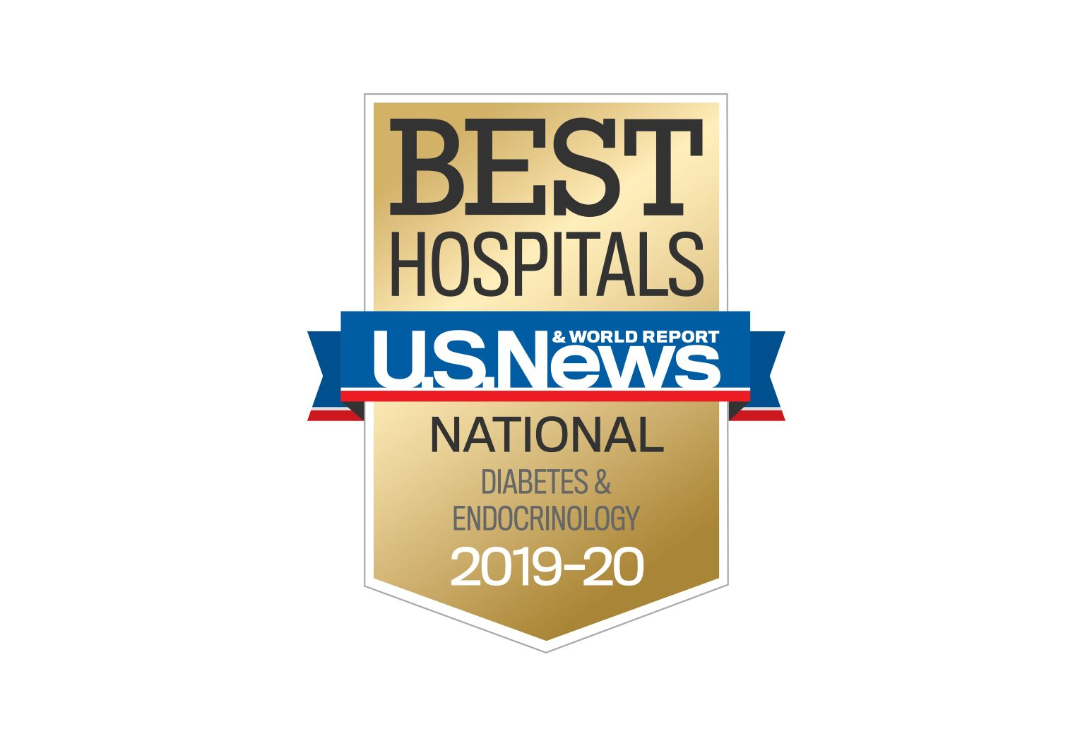 us news and report best hospital badge