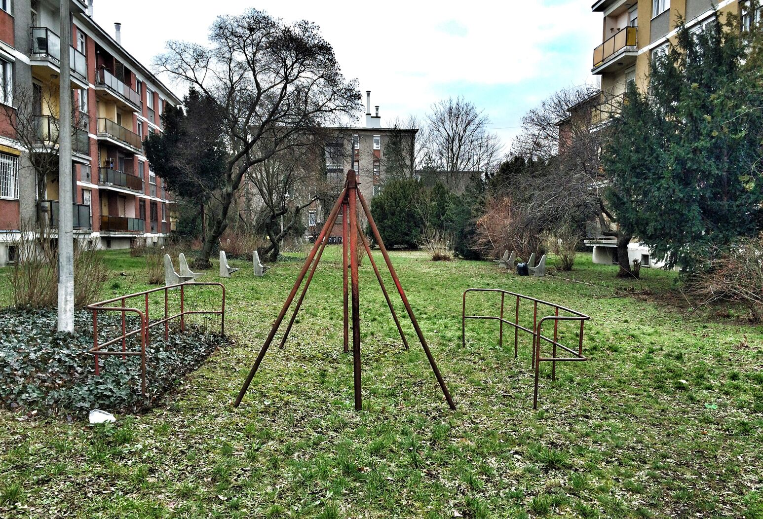 An old playground