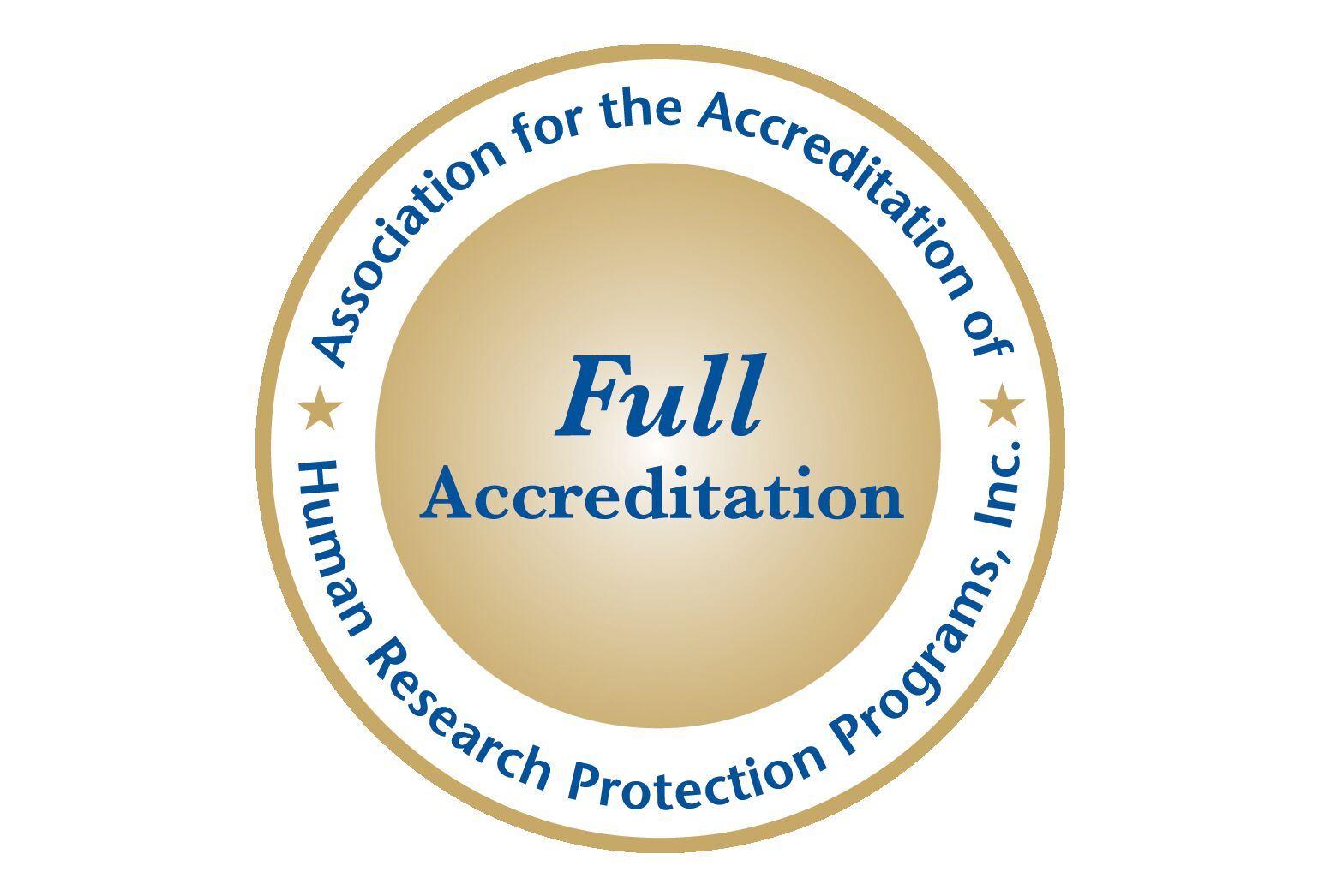 Badge for Association for the Accreditation of Human Research Protection Programs, Inc.